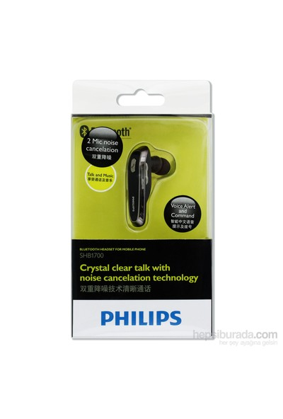 Philips SHB1700/97 Bluetooth Kulaklık (Çift Telefon Desteği)