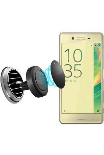 Lopard Sony Xperia X Kılıf - Kapak İçi Mıknatıslı Araç Tutucu Magnet Slim Telefon Tutucu