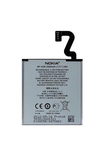 Nokia Lumia 920 Batarya Pil 2000Mah Kutusuz