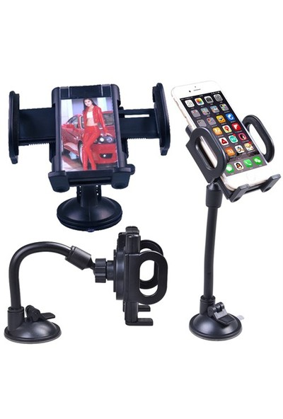 Markaavm Navigasyon Araç Içi Telefon Tutucu Aparat 360