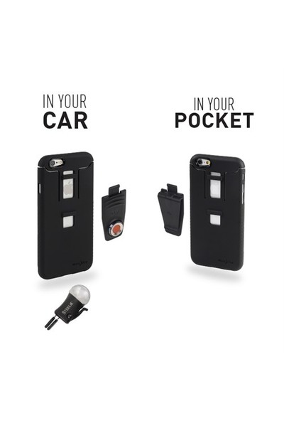 Nite Ize Steelie iPhone 6 Plus Kılıflı Araç İçi Telefon Tutucu - STCNTI6P-01-R8