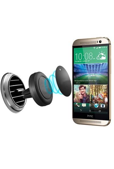 Lopard Htc One M8 Kılıf - Kapak İçi Mıknatıslı Araç Tutucu Magnet Slim Telefon Tutucu