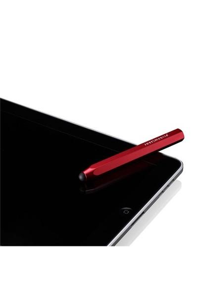 Just Mobile Alupen iPhone, iPod touch, iPad Stylus Kalem (Kırmızı)