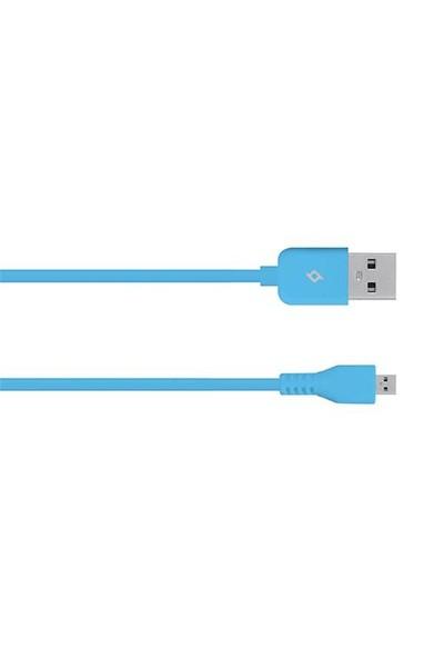 Ttec Micro Usb Kablosu-Mavi