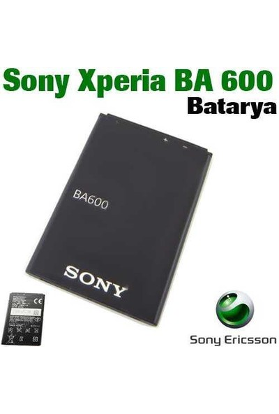 Carda Sony Ericsson Ba600 Batarya
