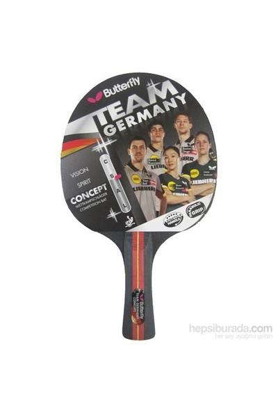 Butterfly 85090 Team Germany Concept Ittf Onaylı Masa Tenisi Raketi