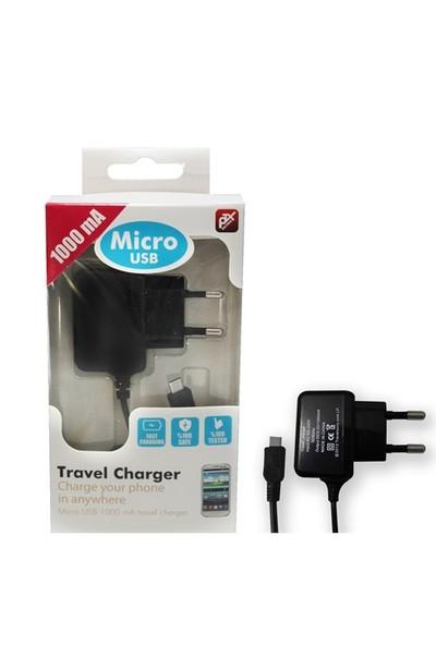Petrix Pt M1000T Micro USB 1000 mAh Ev ve Seyahat Şarj Cihazı