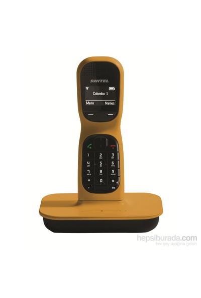 Switel DF 1001 Colombo One Dect Telefon Sarı