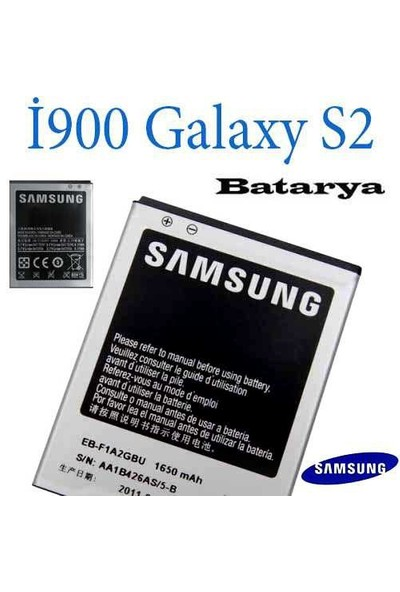 Carda İ9100 Galaxy S2 Batarya