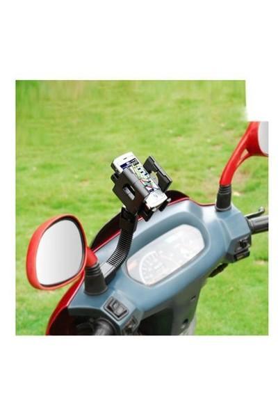 Markacase Motorsiklet Scooter Telefon Tutucu