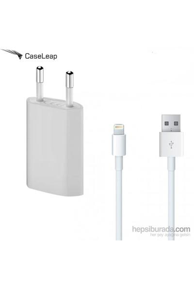 Case Leap Apple iPhone 5/5S/5C/Se/6/6 Plus Şarj Seti