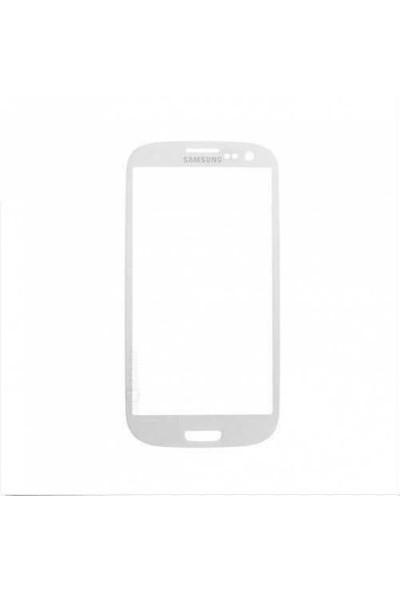 Samsung Galaxy S3 Mini Dokunmatik Lens Beyaz