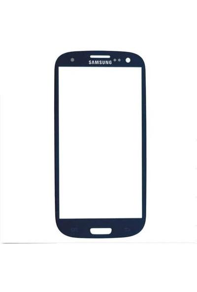 Samsung Galaxy S3 Dokunmatik Lens Mavi