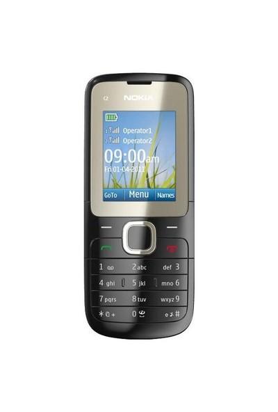 Nokia C2-00 Çift Sim Kart
