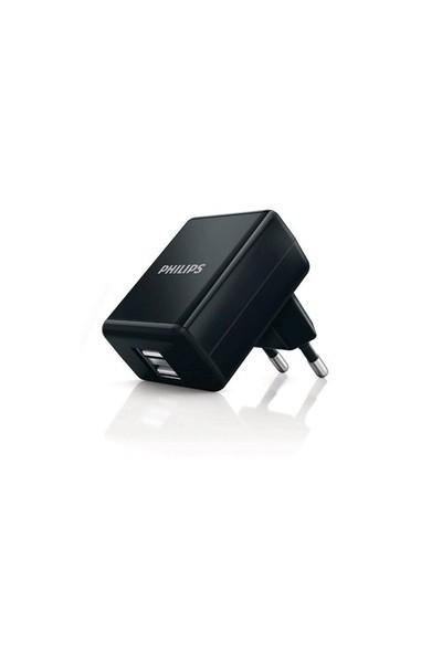 Philips Dlp2209/12 2* Usb 1000Ma Ev Şarj Adaptörü