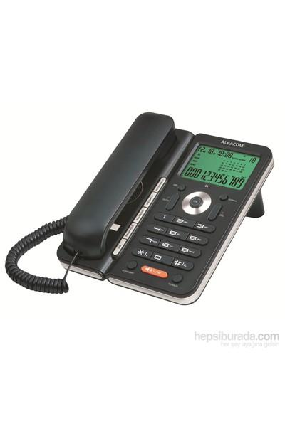 Alfacom 441 Cid. Masa Telefonu Siyah