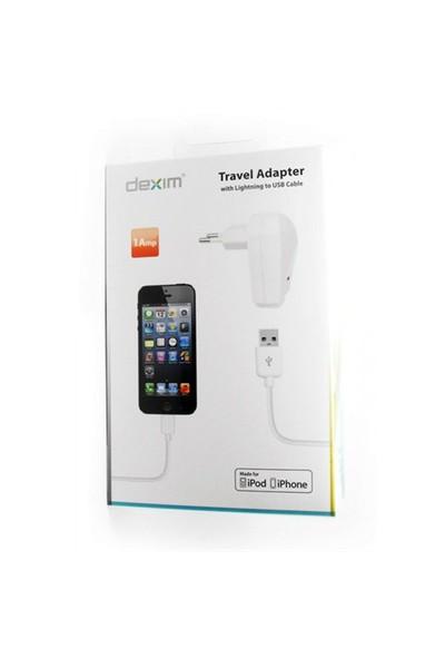 ORİJİNAL APPLE LİSANSLI DATA & EV ŞARJI FOR Iphone 5 - 6 - 6 s- 6 Plus-DEXIM DCA364-W