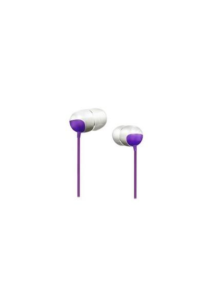 Snopy Sn-709 Koruma Çantalı Lüks Kulak İçi Kulaklık Mobil Telefon Uyumlu Mor
