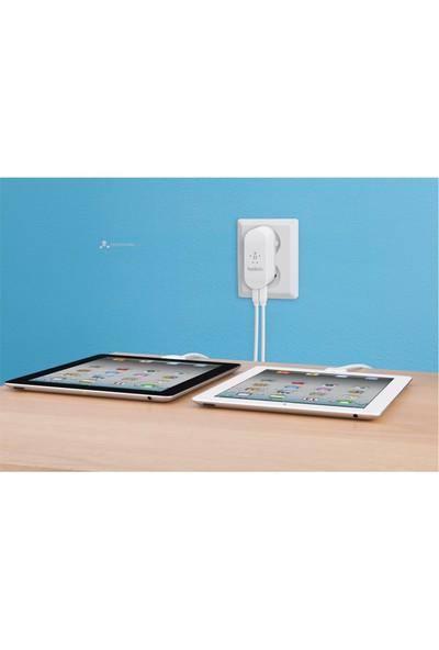 Belkin Şarj Adaptörü Beyaz ( iPhone / iPod / iPad ) F8J003cw04
