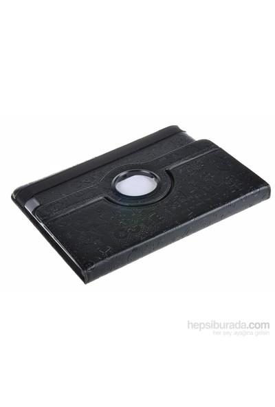 Qapaq İpad Desenli 360 Derece Dönebilir Kılıf Uz244434005009