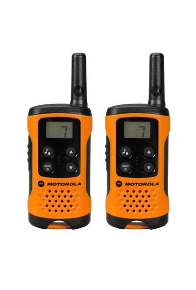 Motorola TLKR T-41 Pmr El Telsizi (2'Lİ Paket ) Turuncu/Siyah