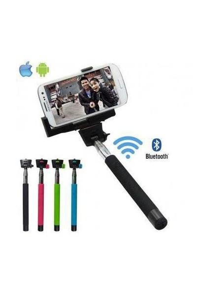 Uygun Bluetooth Uzaktan Kumanda Selfimatik Selfie Çubuğu - T1956