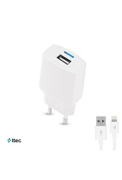 Ttec Compact Seyahat Şarj Cihazı iPhone 5/5s/6//6 Plus (1000mAh)