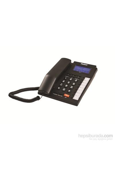 Multitek MC 111 CID Masa Telefonu - Siyah