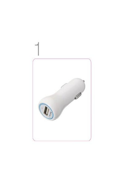 Mili Power Smart 2 Araç Şarjı + iPhone 5 Data Kablosu