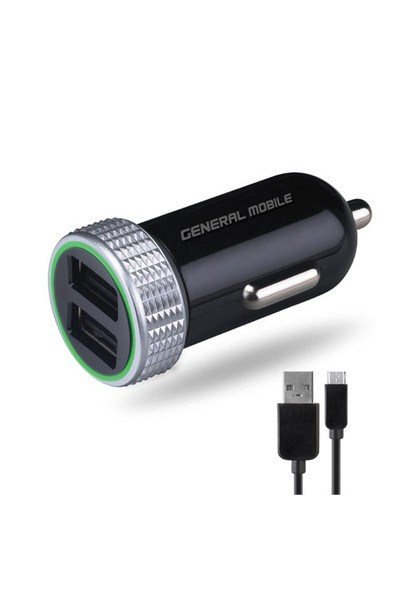 General Mobile Universal Araç Şarj Cihazı - AKGMPC160 (İthalatçı Garantili)