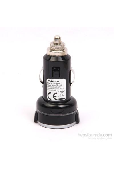 Mirax Universal Çift USB Girişli Araç Şarj Adaptörü - mirax SCR-1122