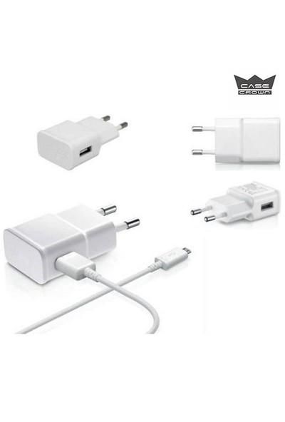 Casecrown Universal Micro Usb Şarj Seti (Lg,General Mobile,Samsung,Htc,Sony,Lenovo,Asus)