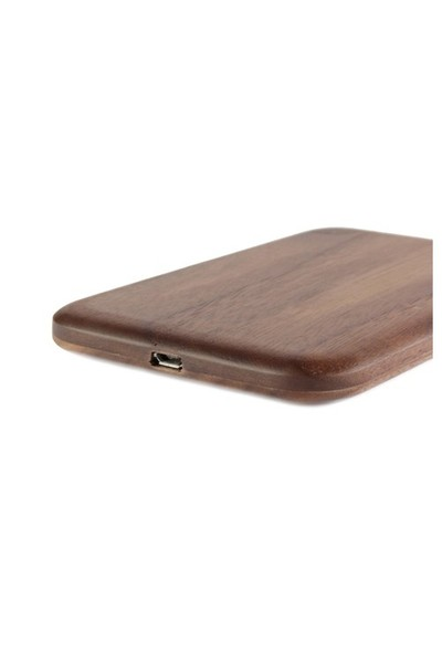 Maxfıeld Wıreless Chargıng Pad Walnut
