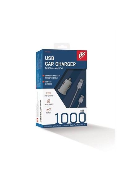 Petrix PT M1005A iPhone 5/5s Araç Şarjı ve Data Kablosu