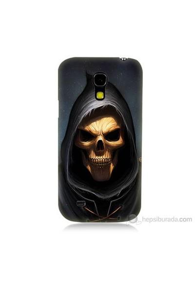 Teknomeg Samsung Galaxy S4 Mini Ölüm Meleği Baskılı Silikon Kılıf