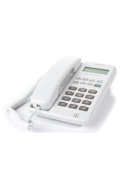 Atlantis 90 Ekranlı Masa Telefonu - Beyaz