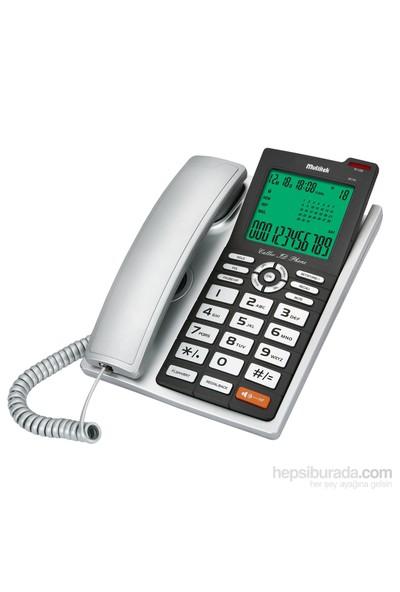 Multitek MC 140 Cid. Masa Telefonu Gri