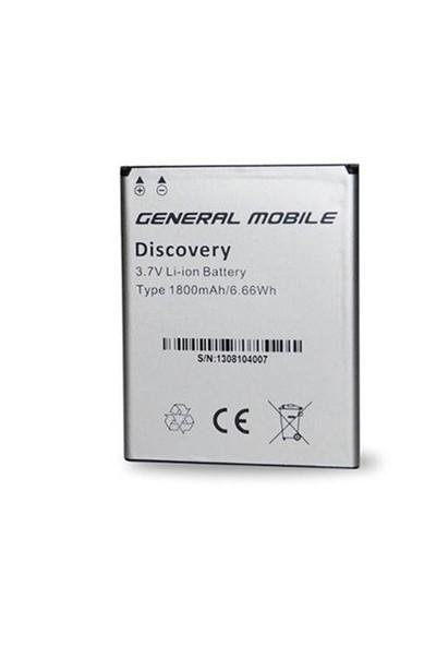 Ksp General Mobile Discovery Iı Mini Pil 1800 Mah Kutusuz
