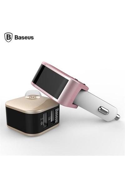 Baseus Sadis Smart Çift Usb Çıkışlı Araç Şarj Cihazı