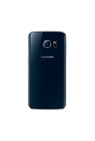 Teleplus Samsung Galaxy S6 Edge Arka Pil Batarya Kapak Mavi