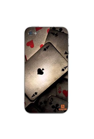 Qapak iPhone 4 Baskılı İnce Kapak uz244434011329
