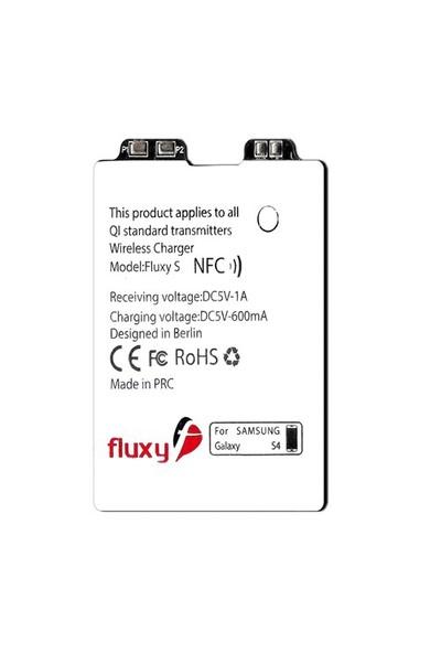 Fluxy S4-Samsung Galaxy S4 için Kablosuz Şarj Aparatı