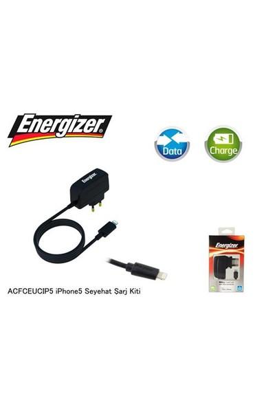 Energizer Acfceucıp5 İphone5 Classic 1000Ma Seyahat Şarj Kiti