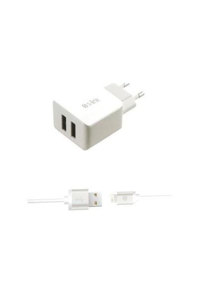 S-Link Swapp Sw-C620 İpad/İphone6/6 Plus 2.1A Kablo Ve İki Usb Ev Şarj Adaptörü