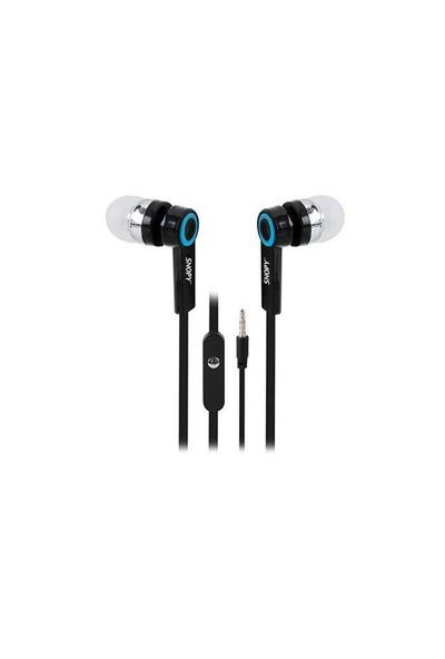 Snopy Sn-J5 Mikrofonlu Kulaklık Mobil Telefon Uyumlu Kulak İçi Siyah