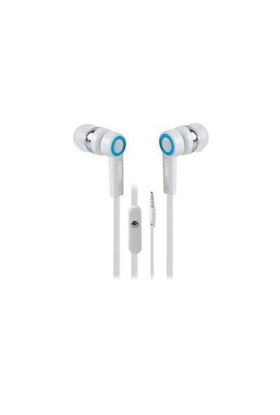 Snopy Sn-J5 Mikrofonlu Kulaklık Mobil Telefon Uyumlu Kulak İçi Beyaz