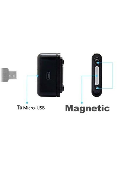 Sony Xperıa Z3 Compact Telefon Manyetik Şarj Micro Usb Adaptörü