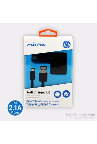 Mirax Micro USB Bağlantılı Şarj Kiti SWT-1220