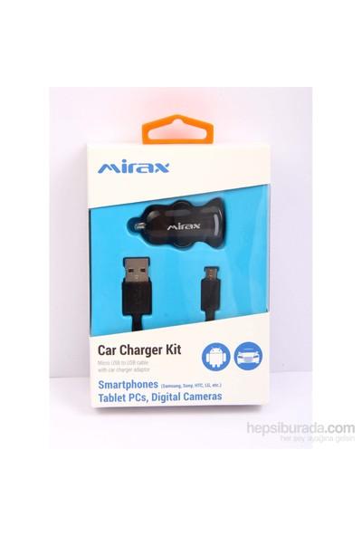 Mirax Micro USB Araç Şarj Kiti - mirax SCT-1210