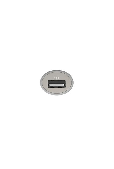 Lityus Araç Şarj Cihazı + Micro Usb Kablo (Beyaz) - AKLCCS0202